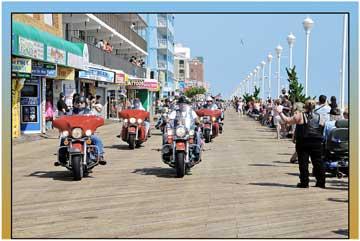 Pictures of Ocean City Maryland Bike Week 2014